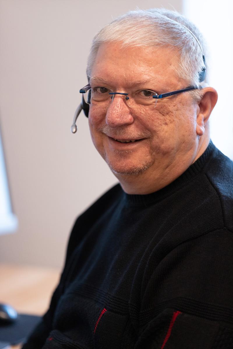 Portrait Hans Riedel